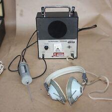 Burnett Ultrasonic Listener Probe Phones Model 609