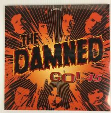 The Damned - Go!-45 LP Record - BRAND NEW 180 Gram - Red Vinyl