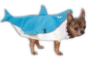 Shark Ocean Sea Animal Cute Fancy Dress Up Halloween Pet Dog Cat Costume
