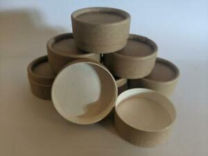 ECO FRIENDLY LIP BALM CARDBOARD JAR, 100% compostable recyclable 15 ml pot JIC