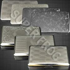 Tobacco Tin Box Case Oz Stainless Steel Smoking Cigarette Storage Paper Holder