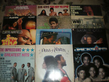 Lot of 32 Vintage CLASSIC Soul LP Covers-Aretha Franklin-Marvi/Party Decorations