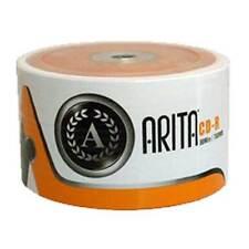 1 x 50 ARITA 52X 700 MB MARCA CD-R in maniche di 50 grandi tutti ROUND DISC