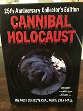 CANNIBAL HOLOCAUST DVD 25th Anniversary 2-disc Collector's Edition Limited Rare!