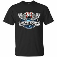 Space Force Emblem USA USSF Logo T-Shirt Men's Tee Short Sleeve Fashion S-5XL
