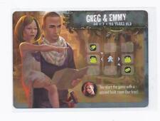 Outlive: Greg & Emmy promo leader card New