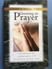 God's Word for Growing in Prayer by Andrew Murray (2003, Hardcover)