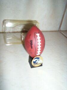 Denver Broncos football ornament