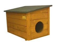 Hundehütte wetterfestes Hundehaus mit Vordach für Hunde Hundehöhle Hütte Haus