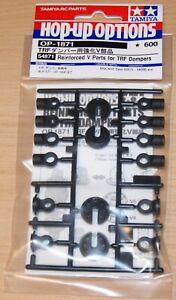 Tamiya 54871 Reinforced V Parts for TRF Dampers (TRF419/TRF420/TB Evo 7), NIP