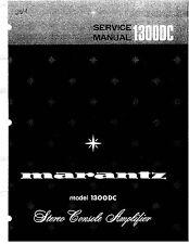Marantz 1120,1122DC, 1150, 1152DC, 1180DC, 1200, 1250, 1300DC Amp Manuals on CD