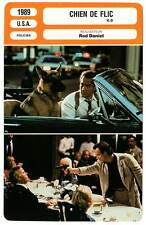 FICHE CINEMA : CHIEN DE FLIC - Belushi,Harris,Daniel 1989 K-9