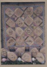 Bareroots 'Easter Quilt and Pillows' Pieced & Applique Quilt Patterns #65