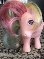 My Little Pony G1 Vintage Hasbro 1983 Pink Rainbow 🌈 Umbrellas ☔️
