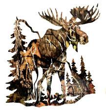 """Moose Vinyl Decal - Moose Sticker - Die Cut Custom Car Window Laptop Tumbler 5"""""""