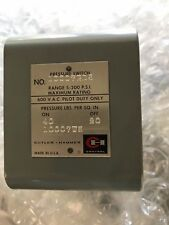 Cutler-Hammer Eaton 10007Ed5 Pressure Switch Control New Surplus out of Box