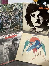 vintage vinyl records lot eagles john cougar rod steward 4 lps