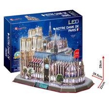 Cubic Fun - 3D Puzzle Notre Dame De Paris Frankreich mit LED Beleuchtung