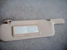 1993-1995 Nissan Quest  Left Sunvisor OEM 96401-0B706