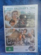 SENCE & SENSIBILITY/LITTLE WOMEN EMMA THOMPSON(2 DISC BOXSET) G R4 SEALED