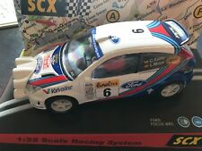 Ford Focus WRC Scalextric SCX Rally Car 1:32 Monte Carlo 2000 Carlos Sainz 60580