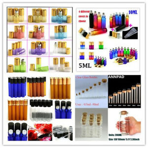 Various types bottles Glass Bottles with Metal/Glass Cork Bottles Container Oils