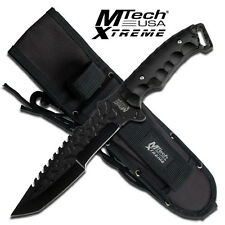 Mtech Xtreme Full Tang Fixed Blade,Tanto Blade, Hunting Knife Knives #8062BK