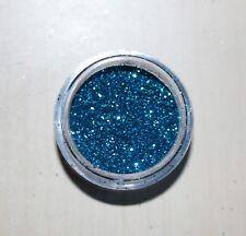 NSI Beaming Blue - 5g Pot NSI Acrylic Powder Glitter Mix Nail Art Pre-Mixed