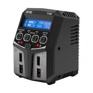 Caricabatterie SkyRc T100 AC/DC Duo LiPo 1-4s 5A 2x50W doppia uscita