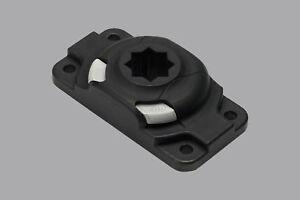 Railblaza Starport HD Halterung für Kajaks (schwarz) Montage: bohren 03-4046-11