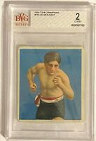 AD WOLGAST 1910 T218 Mecca Champions Boxing Beckett #153 BVG BGS 2 Population 1