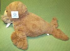 "27"" Goffa Walrus Stuffed Sea Animal with Hang Tag Plush Toy Tan White Tusks"