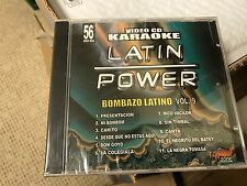 LATIN POWER KARAOKE VCD DVD VCLP-056 BOMBAZO LATINO VOL 9 SEALED