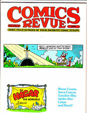 "Comics Revue Vol 1 No 12-1985-Strip Reprints- ""Hagar The Horrible Cover!  """