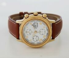 FESTINA Chronograph automatic Valjoux 7750 Steel & Gold plated Men's watch