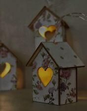 LED String Light's 8 Floral House Hut's hanging LED's Garland Indoor Lightening
