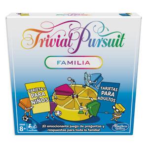 Trivial Familia - Juego de mesa - Hasbro Gaming  - 8 AÑOS+