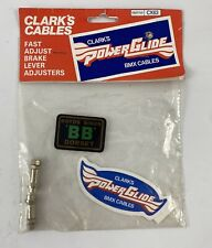 NOS Clark's PowerGlide brake cable Adjusters 1980's - Old School BMX