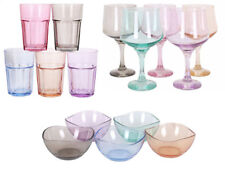 Lav Coloured pastel Wine cocktail beer coffee drinking glasses food containers