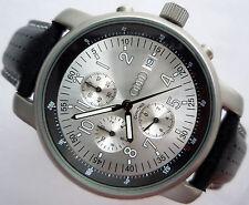 Audi Classic Colection Business Elegant Sport Racing Design Chronograph Watch