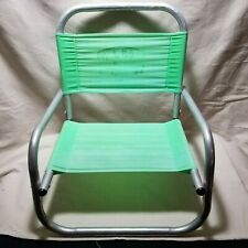 Vintage Aluminum Folding Beach Chair Ron Jon