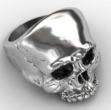 KEITH RICHARDS ROLLING STONES SKULL RING!  WITH FREE BLACK RING BAG!