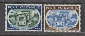 Vatican Stamps 1957 Pontifical Academy of Science 20th Anniversary Complete set