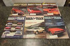 COMPLETE ROAD & TRACK MAGAZINE JANUARY-DECEMBER 1983 (OAK9677-1 [LOC.DDD] #221)