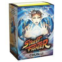 DRAGON SHIELD Jasco Street Fighter Chun Li 100 CARD SLEEVES DECK PROTECTORS MTG