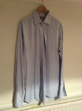 Thomas Pink blue shirt double cuff size 17 / 36.5