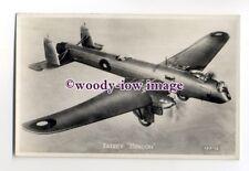 ac0051 - RAF Aircraft - Fairey Hendon - postcard
