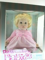 Madame Alexander Doll Babies 2012 New In Box Alexander Baby Doll