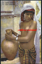 AK - LEHNERT & LANDROCK - Nr. 738 - Types d'Orient - HAREM - AFRIKA - MAGHREB