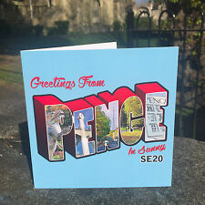 Retro style greetings card celebrating the fantastic Penge SE20 neighbourhood